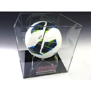 サッカーボール記念コレクションケース (アクリルケース)|toumeikan