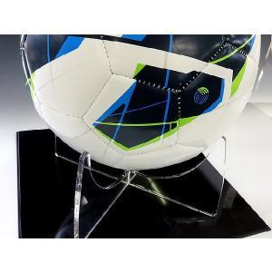 サッカーボール記念コレクションケース (アクリルケース)|toumeikan|02