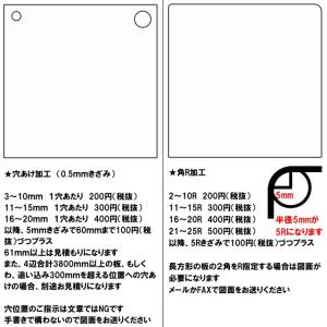 ポリカーボネート 透明-板厚(5ミリ)(両面耐候)910×910|toumeikan|04
