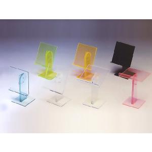 マルチディスプレイ台 ガラス色 W200mm×D205mm×H285〜315mm 板厚5mm (アクリルディスプレイ)|toumeikan