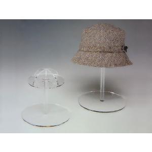 帽子スタンド(高) φ200mm×H350mm (アクリルケース)|toumeikan