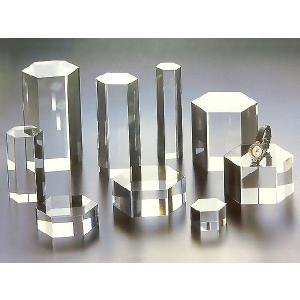 アクリル六角柱 W30mm×D30mm×H150mm (アクリルステージ)|toumeikan