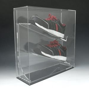 コレクションケース シューズ スニーカー スパイク ローカット アクリル 透明 25~27.5cm|toumeikan|02