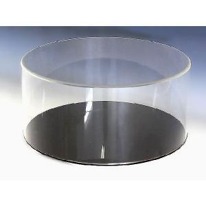 円柱型コレクションケース W150mm H490mm D150mm 板厚3mm    コレクション フィギュア アクリル板 ディスプレイ 収納アクリルケース|toumeikan|02