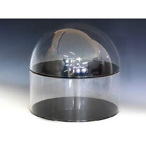 円柱型コレクションケース W150mm H490mm D150mm 板厚3mm    コレクション フィギュア アクリル板 ディスプレイ 収納アクリルケース|toumeikan|03