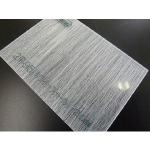 アクリワーロン 片面和紙貼りタイプ 2R-95(ホワイトフォール) 板厚(2ミリ)-1820mm×910mm 以上|toumeikan