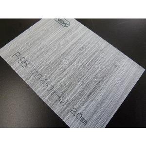 アクリワーロン プリントタイプ(和紙調) P-95(ホワイトフォール) 板厚(5ミリ)-1820mm×910mm 以上|toumeikan