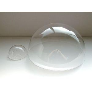 アクリル半球ドーム-透明-外径(100ミリ)-板厚(2ミリ) イベントやディスプレイやDIYに|toumeikan