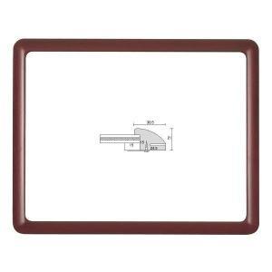 額縁 OA額 ポスター額縁 木製フレーム D715 サイズ900X450mm デッサン額 フレーム ...