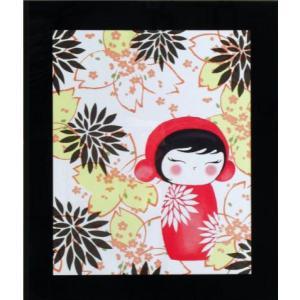 絵画 インテリア アートポスター 壁掛け (額縁 アートフレーム付き) ザ・ミズキードールズ 「A−4552」|touo