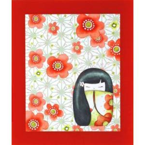 絵画 インテリア アートポスター 壁掛け (額縁 アートフレーム付き) ザ・ミズキードールズ 「A−4554」|touo