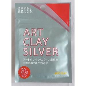 アートクレイシルバー 銀粘土 20g|touo