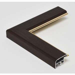 額縁 正方形の額縁 木製フレーム アルミ製 CF面金付 サイズ150画|touo