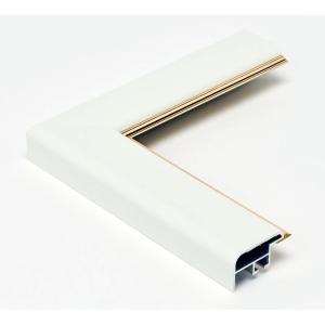 額縁 正方形の額縁 木製フレーム アルミ製 CF面金付 サイズ500画|touo