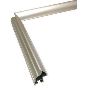 額縁 正方形の額縁 木製フレーム アルミ製 DL サイズ500画|touo