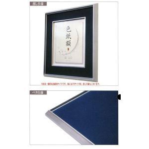 和額縁 日本画額縁 フレーム アルミ製 DC サイズF15号|touo