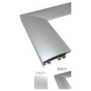 額縁 OA額 ポスター額縁 アルミフレーム DL 面金付 サイズ700X500mm|touo