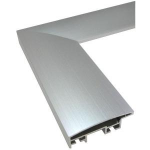 額縁 正方形の額縁 木製フレーム アルミ製 DL サイズ700画|touo