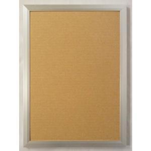 OA額縁 ポスター額縁 アートフレーム アルミフレーム JパネルNext1枚 A2サイズ594X420mm シルバー|touo