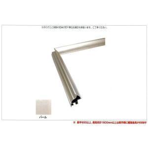 OA額縁 ポスター額縁 アートフレーム アルミフレーム クレア サイズ600X500mm|touo