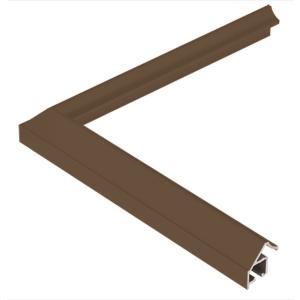 額縁 正方形の額 木製フレーム アルミ製 MG サイズ700画|touo
