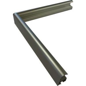 額縁 横長の額縁 アルミフレーム R92 横長B サイズ500X250mm|touo