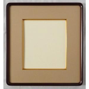 額縁 色紙額縁 アートフレーム 高級隅丸 木製 クラシック No.76 色紙|touo