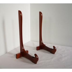 2本組木製フレーム額立て 430H|touo