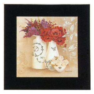 絵画 インテリア アートポスター 壁掛け (額縁 アートフレーム付き) キャサリン・ホワイト作 「G−5877」|touo