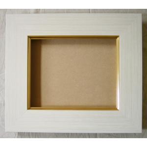 額縁 油絵額縁 油彩額縁 木製フレーム アクリル付 3467 サイズWF4号|touo