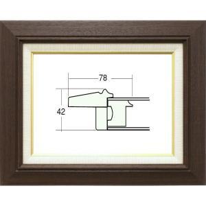 油絵額縁 油彩額縁 アートフレーム 木製 3427 サイズP12号|touo