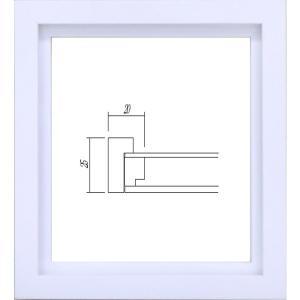 額縁 アートフレーム 色紙額縁 4876 (1/4色紙)|touo