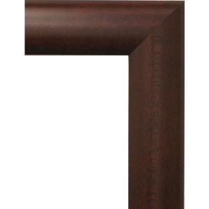 額縁 オーダーメイド額縁 オーダーフレーム 油絵用額縁 5021 マホ 組寸サイズ2400 F60 P60 M60|touo
