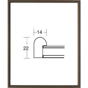 額縁 デッサン額縁 木製フレーム 5547 インチサイズ|touo