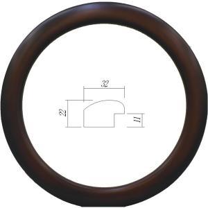 額縁 円形額縁 木製フレーム 5630 正円350mmサイズ|touo