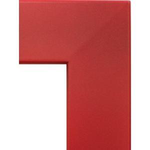 額縁 オーダーメイド額 オーダーフレーム 油絵額縁 5659 レッド 組寸サイズ700|touo