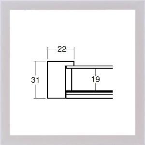 額縁 正方形の額縁 木製フレーム 5660 250角サイズ|touo