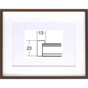 額縁 水彩額縁 木製フレーム 5767(歩7) サイズF8号|touo