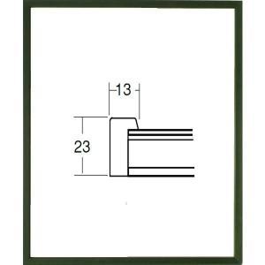 額縁 デッサン額縁 木製フレーム 5767 半切サイズ|touo