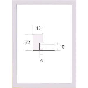 額縁 OA額縁 ポスター額縁 木製フレーム 5866 B2サイズ 728X515mm|touo