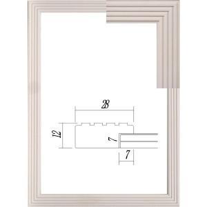 額縁 OA額縁 ポスター額縁 木製フレーム 5895 B4サイズ 364X257mm|touo