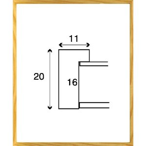 デッサン額縁 フレーム 水彩額縁 スケッチ額縁 木製 正方形の額縁 6708 250角サイズ|touo