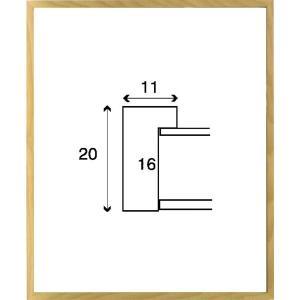 デッサン額縁 フレーム 水彩額縁 スケッチ額縁 木製 正方形の額縁 6708 200角サイズ|touo