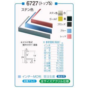 額縁 デッサン額縁 アルミフレーム 6727 (トップ5) 大判サイズ touo