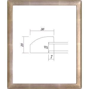額縁 デッサン額縁 木製フレーム 7203 三三サイズ|touo
