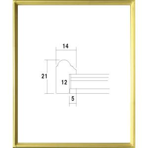 額縁 正方形の額縁 アクリル仕様 7517 400角サイズ|touo
