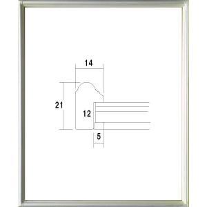 額縁 正方形の額縁 木製フレーム 7517 500角サイズ|touo