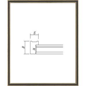 OA額縁 ポスター額縁 アートフレーム 木製フレーム 7910 A4サイズ|touo