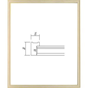 OA額縁 ポスター額縁 アートフレーム 木製フレーム 7910 B4サイズ|touo