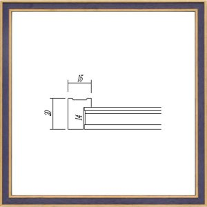 額縁 正方形の額縁 木製フレーム 7910 300角サイズ|touo